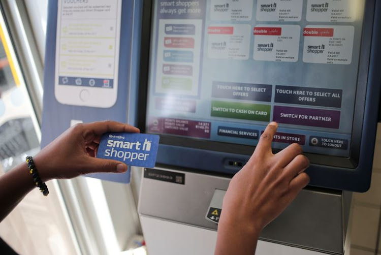Pick n Pay's Smart Shopper loyalty card. File photo.