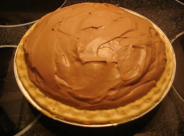 Chocolate Cream Mousse Pie Recipe