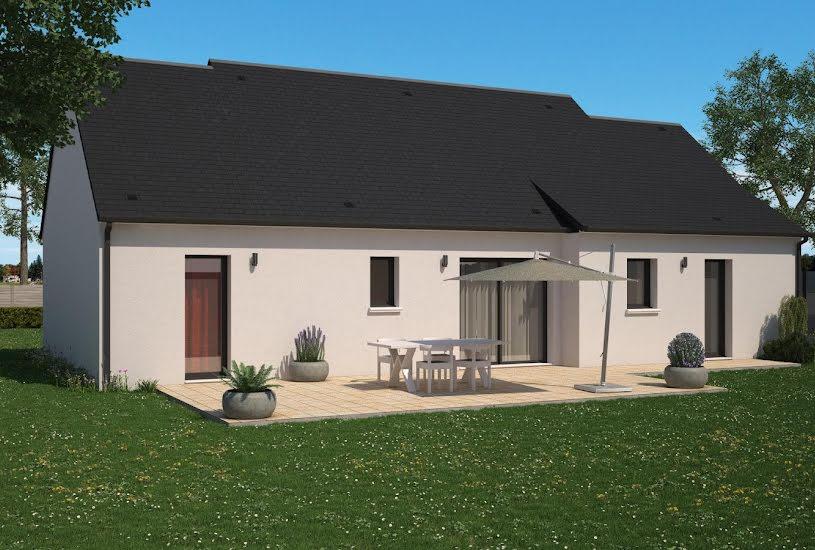 Vente Terrain + Maison - Terrain : 1000m² - Maison : 88m² à Poitiers (86000)