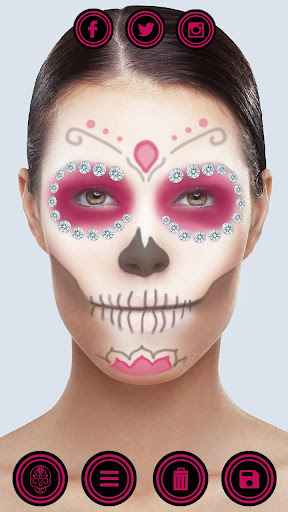 ce634e24c Download Day of the Dead Makeup – Sugar Skull Face Masks on PC & Mac ...