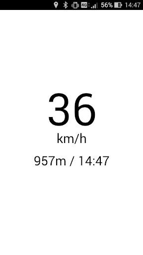 GPS速度