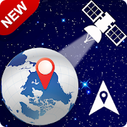 GPS Satellite Maps: Voice GPS & Live Street View