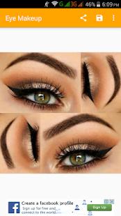 Eye makeup(offline)