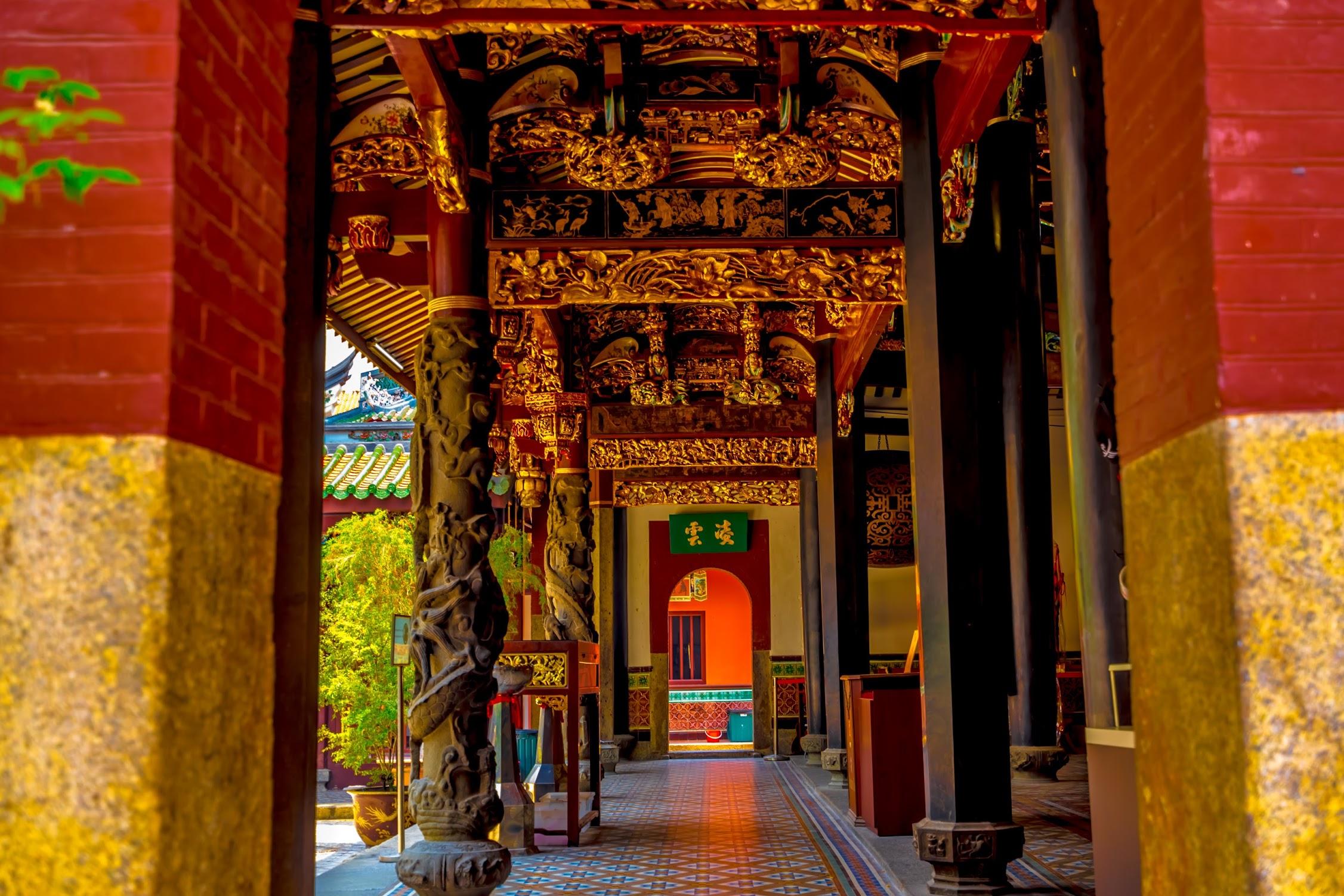 シンガポール シアン・ホッケン寺院5
