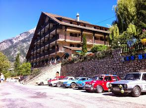 Photo: Etape à Guilleste dans les Hautes-Alpes, pour déjeuner.