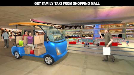 Shopping Mall Rush Taxi: City Driver Simulator 1.1 screenshot 2093856