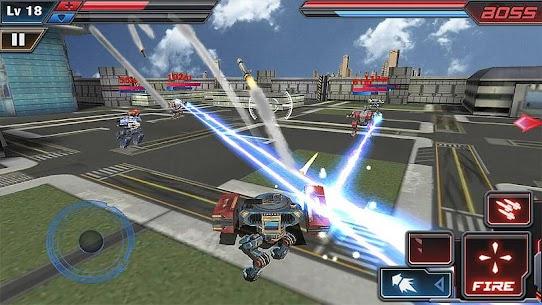 Ataque de Robot 3D 1