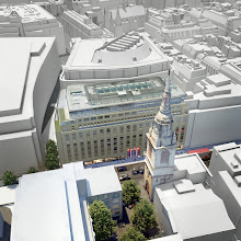 Photo: Isometric 3d camera view of, nr1 cheapside building, with a context model