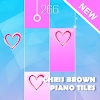 Piano Magic Tiles Music Chris Brown No Guidance APK Icon