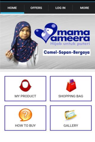 Kids Hijab Mama Ameera