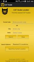 Screenshot of CAT Scale Locator