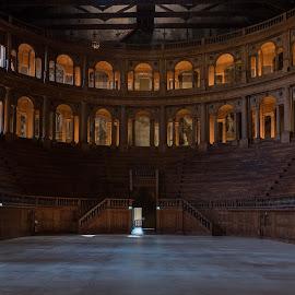 Parma by Tomasz Karasek - Buildings & Architecture Public & Historical ( auditorium, teatro farnese, baroque, parma, italy )