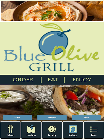 android Blue Olive Grill Screenshot 3