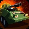 Cube Tank Battle Wars 3D icon