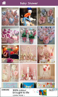 Baby Shower Decoration Designs - náhled
