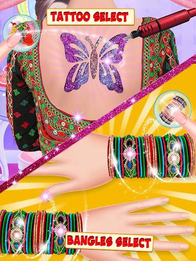 Indian Girl Wedding Makeup Game apkmind screenshots 5