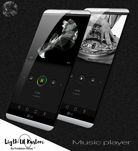 Ligth UI Kustom Pro 1/Klwp screenshot 4