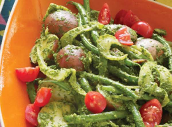 Warm Potato Salad Primavera_image