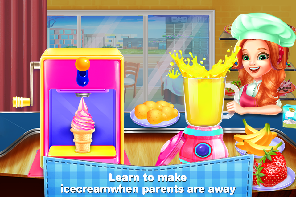 Kitchen Mania Cooking School - Classes For Girls- screenshot