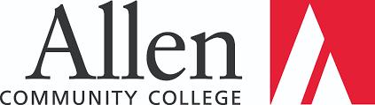 Logo of Allen Community College online pharmacy technician training program