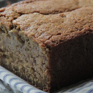 Oat Flour-Maple Banana Bread.