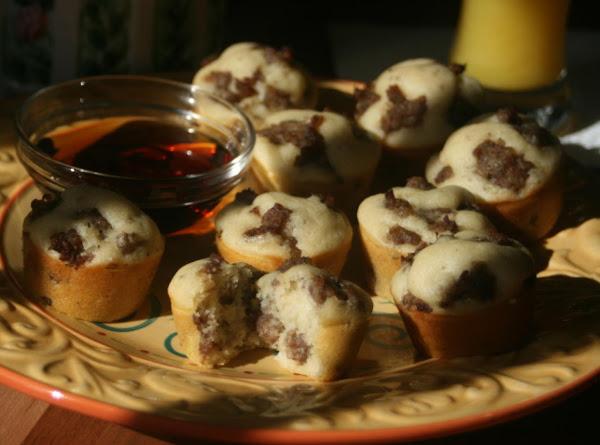 Kelly's Sausage Pancake Bites! W/apple Variation Recipe