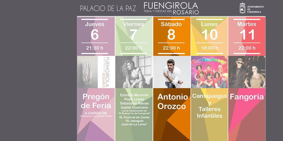 Antonio Orozco - Feria del Rosario