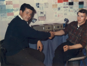Photo: Vic Bove & Jack Demaree 1964 in Calif.