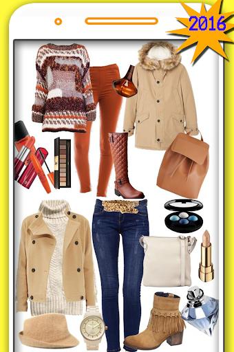 女性の冬のファッション
