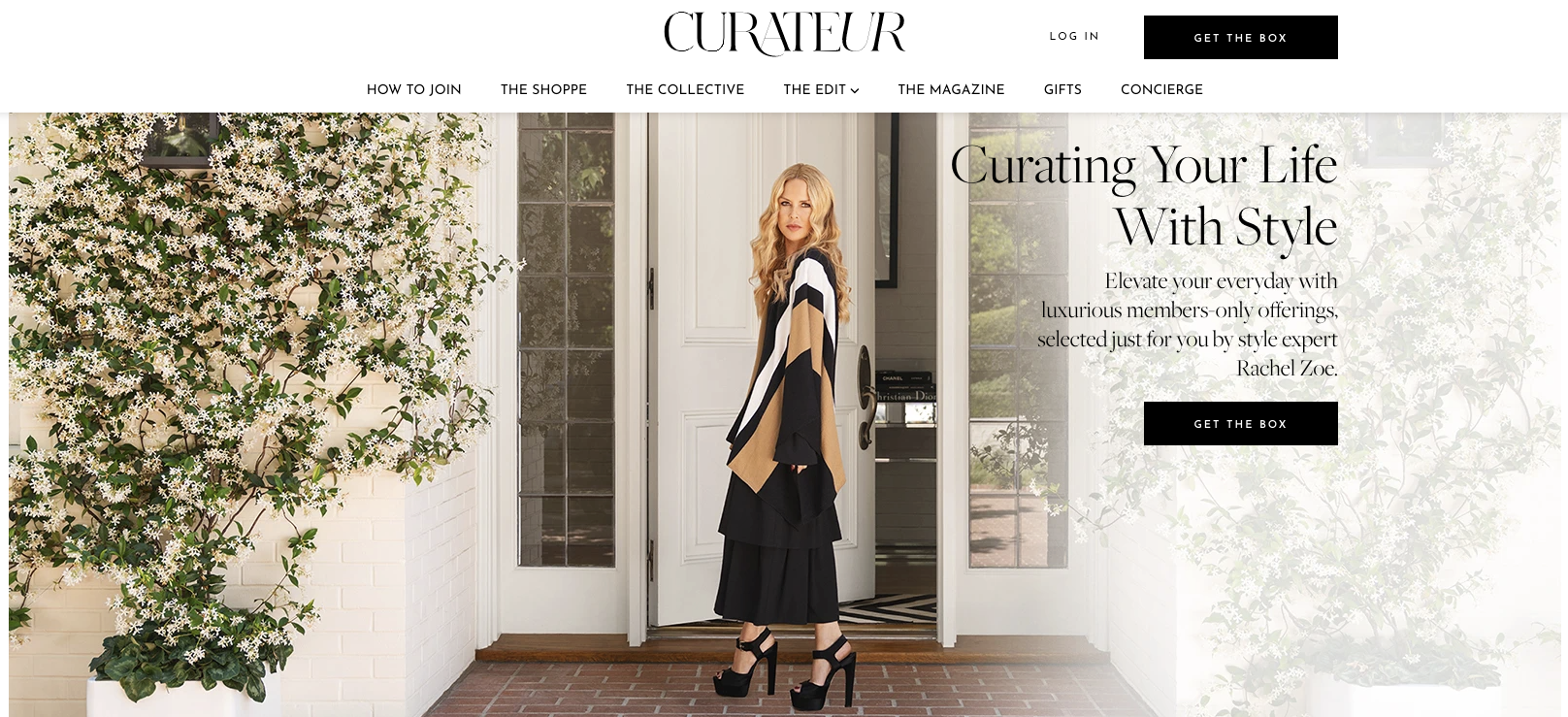 Curateur offers early access to the latest fashions.