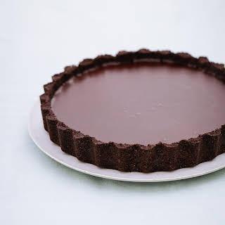 Salted Chocolate Tart.