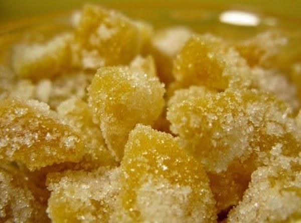 Crystallized Ginger,ginger Syrup & Ginger Sugar Recipe