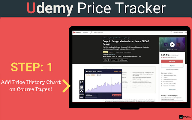 Udemy Price Tracker & Image Downloader