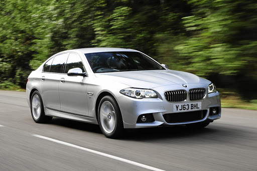 A  2012 BMW 520d like this one that is the subject of a court application.