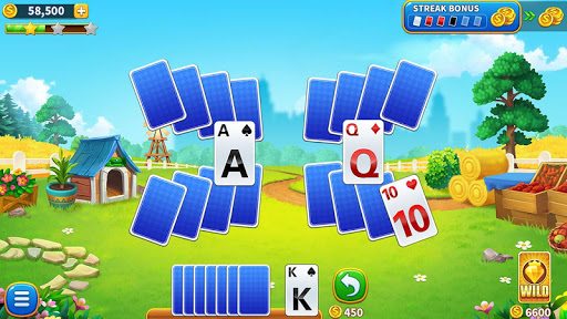 Township: Solitaire Tripeaks screenshot 1