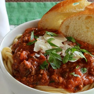 My Dad's Spaghetti Sauce
