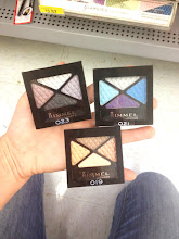 Photo: These quad shadows are great... all the colors you need for a look are already put together for you.