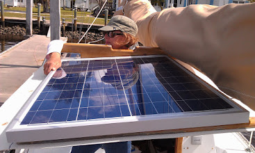 Photo: Now that I've created a photo album it is official - We are adding aphoto-voltaic (PV) charging system to C'est la Vie. I'll keep adding images to the album and updates on sv-cestlavie.blogspot.com as the installation progresses.