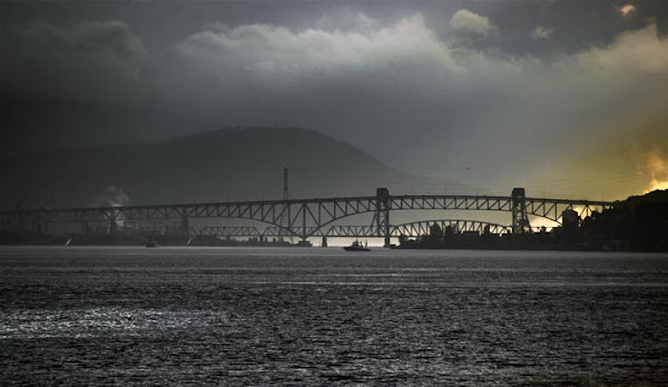 <p> The Ironworkers Memorial Second Narrows Crossing</p>