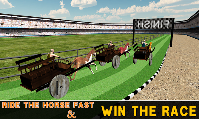 Horse Cart Racing Simulator - screenshot