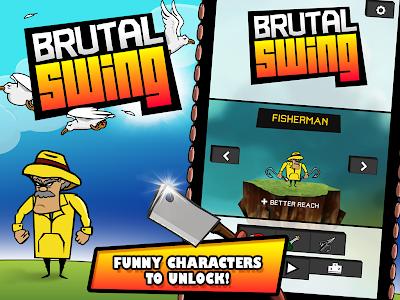 Brutal Swing v1.0.9 (Mod Money/Unlock)
