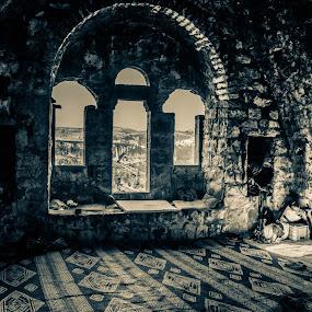 Jerusalem by Yakov Zak - Black & White Buildings & Architecture ( jerusalem. )