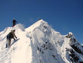 Photo: Na Kleinglocknerze 3 778 m n.p.m., na drugim planie Grossglockner 3 798 m n.p.m.