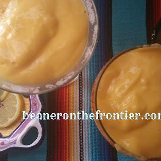 Frozen Lemon-Mango Mamacita's Margarita