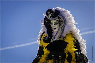 Foto: The blue lipstick  feel free to +, comment and share  Habt ihr überhaupt noch Lust auf Bilder vom Venezianischen Karneval????