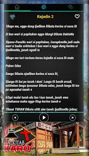 Alkitab Karo GBKP : Dengan Audio for PC-Windows 7,8,10 and Mac apk screenshot 2