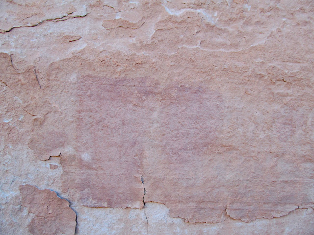 Faded (headless) pictographs