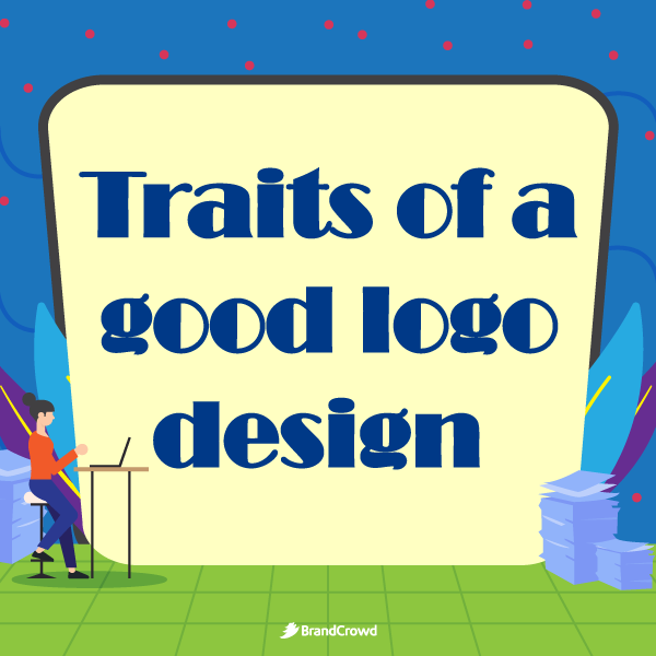 the-section-image-features-a-woman-working-with-the-typography-of-the-section-title-traits-of-a-good-logo-design-behind-her