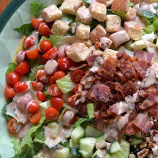 Barbecue Ranch Bacon Tomato Egg Salad.