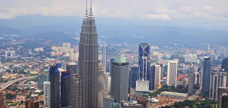Photo: View of the city from the KL tower.